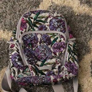 Vera Bradley Lavender Meadow Hadley Backpack